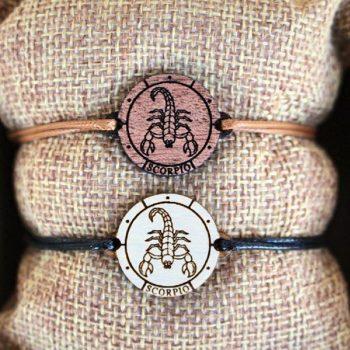 Bransoletki na podwójnym sznurku - Zodiak